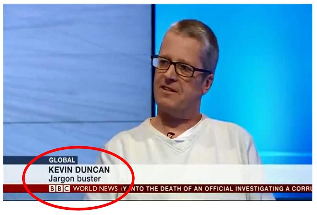 Kevin Duncan Jargon Buster