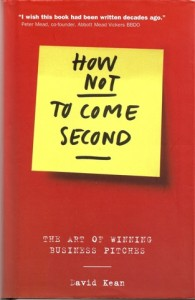 HOW NOT TO COME SECOND