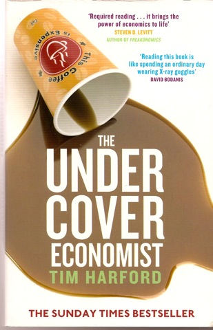 the undercover economist In the introduction to my book, the undercover economist, i invite readers to imagine that, as they leaf through the pages, there's an economist sitting nearby.