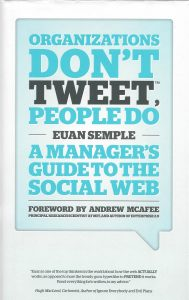 ORGANIZATIONS DON'T TWEET